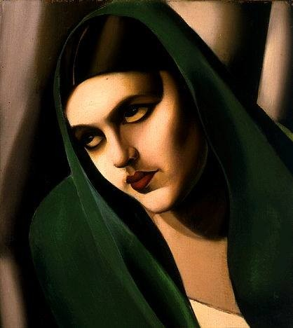 The Green Veil, 1924, Tamara de Lempicka